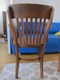 Vinatge wood Armchair