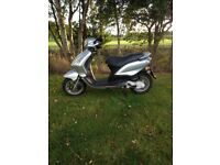 Piaggio fly 100cc 2008 low mileage