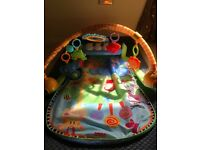 Fisher price baby play gym & kick and play piano