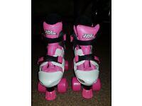 No Fear Quad Roller Skates