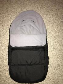 Car seat cosy toes - never used