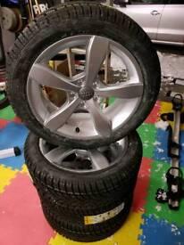 Audi VW new alloys & winter tyres