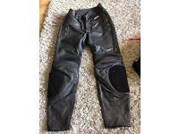 Ladies leather trs size 16 ex con
