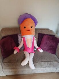 Kevin and Katie the Carrot