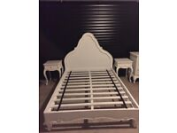 Bedroom furniture, white, good condition