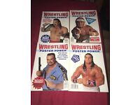 Westling poster magazines