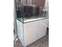 Brand new Aqua Evolution Eas 1200s 4ft marine/tropical fish tank with setup (delivery/Installation)