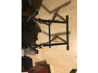 Combo amp folding angled stand . Heavy duty good condition No Traders
