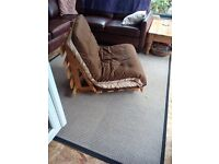 Futon chair/bed
