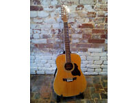 Crafter D8-12/ 12 String Guitar - Electric/Acoustic