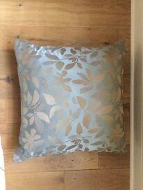 Luxurious silk cushion