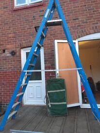 Ex HSS Hire step ladders