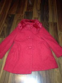 Girls coat Age 3-4