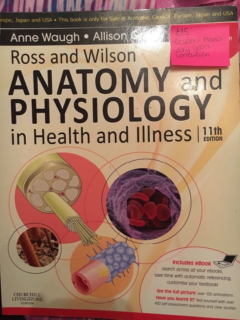 Mental health nursing textbooks & Ross & Wilson anatomy and ...