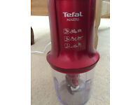Tefal MiniPro Food Chopper 500W Red