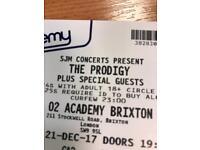 The Prodigy Tonight! (21/12/17) Brixton