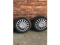 15inc tyres with trims