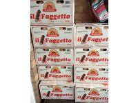 Il Faggetto logs for pizza Oven.
