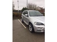 BMW X5 3.0L 2007 silver areo edition full bmw service history