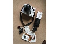 Canon eos 70D Full kit With Three lenses Three batteries batery charger