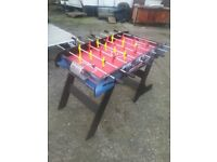 new football or soccer table