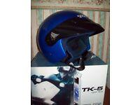 "Crash Helmet-Tokachi- ""Harley Davidson style"" Large Size"