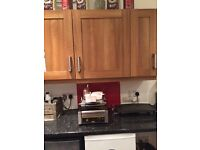 Kitchen wall cabinets 2x double 1x single