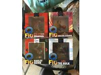 Set of 4 Q-Figs