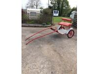 Greenwell horse cart **