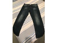 Firetrap Blackseal Jeans, 34x32 - £15