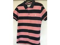 Men's JACK WILLS 100% cotton polo shirt SIZE SMALL in excellent condition
