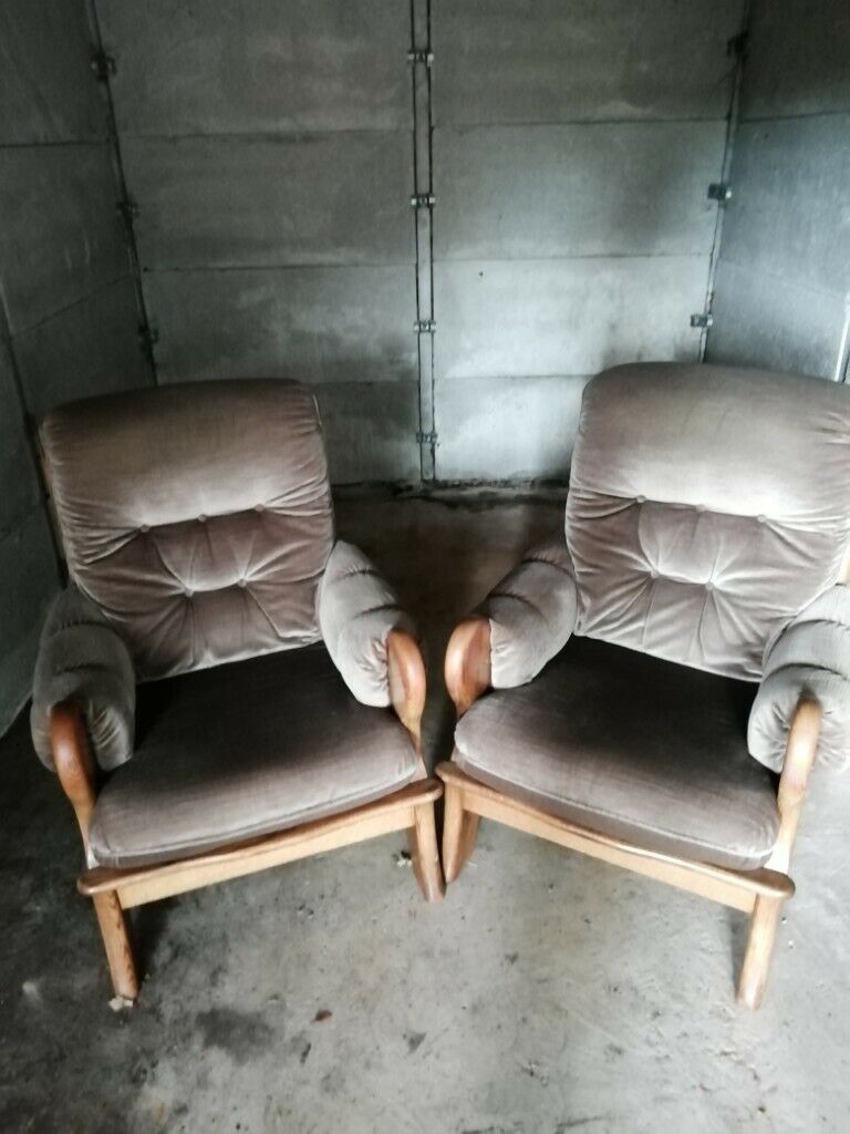 Two armchairs. | in Bassaleg, Newport | Gumtree