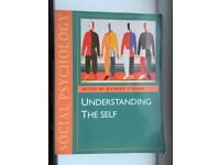 Social Psychology Understanding the Self Edited by Richard Stevens - £7 ONO Plus £2.60 P&P