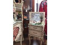 Vintage bedside cabinet x1