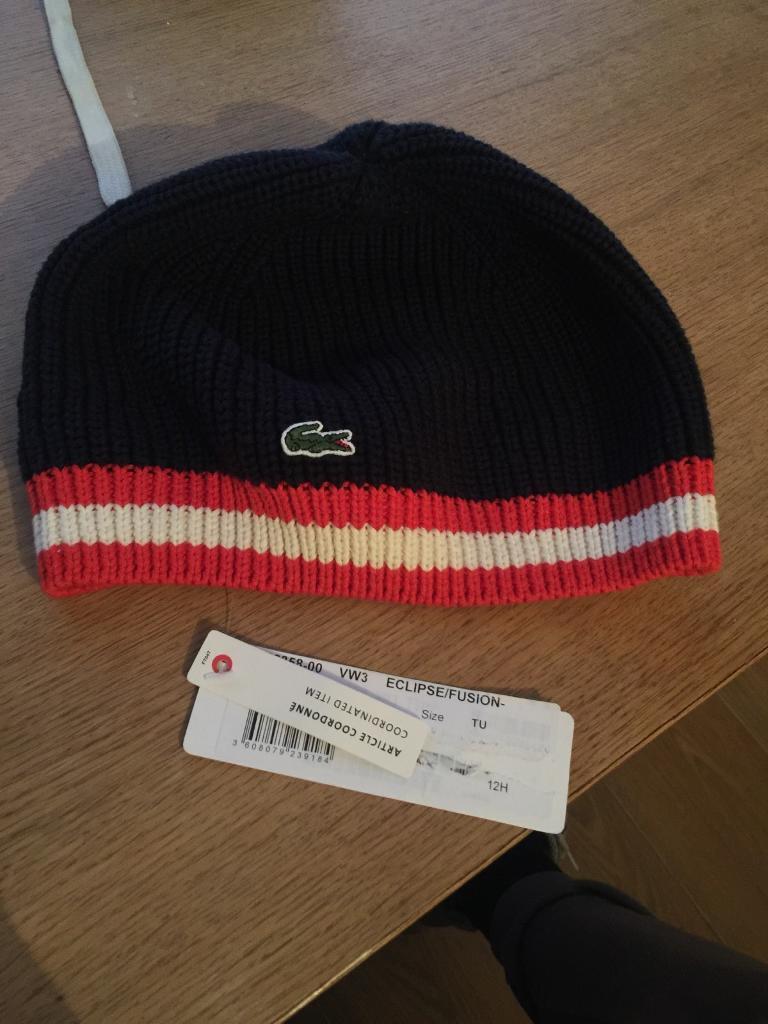 14b69aa448432 Lacoste hat