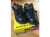 Work steel toe boots