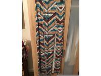 Boho Long Maxi Skirt with Splits