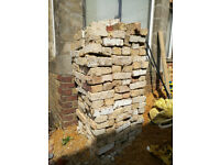 More than 2000 reclaimed old multi stock London bricks ( about 50% yellow stocks) for sale