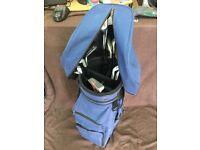 Wilson Golf bag and Regal trolly