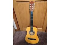 34 inch. 1/2 size Acoustic Guitar.
