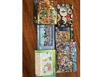 BUNDLE OF 500 AND 1000 PIECE PUZZLES