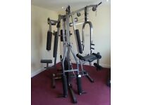 Multisports MGVS Dual Stack Home Gym - Chest Press, Pec Deck, Squat, High/Low Pulley, Leg Curl, VKR