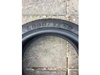 Goodyear Eagle F1 245/35/18 88Y RUN FLAT 2 DAYS OLD