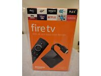 Amazon Fire TV with 4K and Alexa Voice Remote (new)