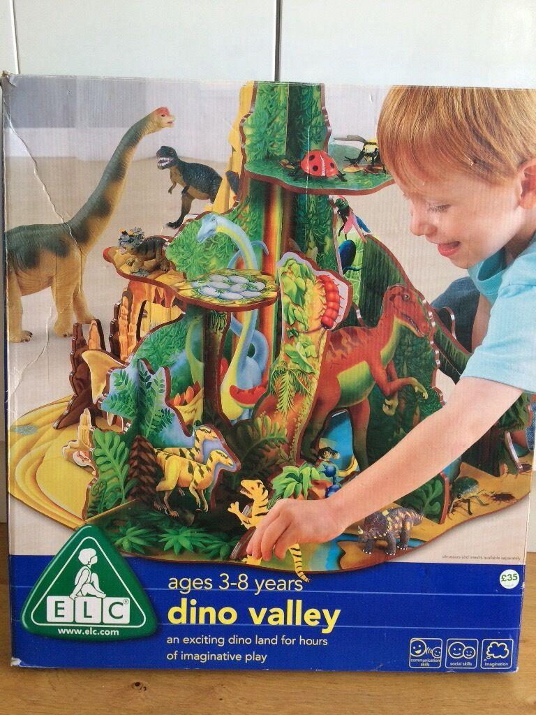 Early Learning Centre Dino Valley Wooden Playset With