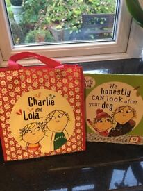 Charlie and Lola Book Set with Bag