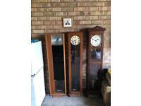 Three Synchronome Master Clocks