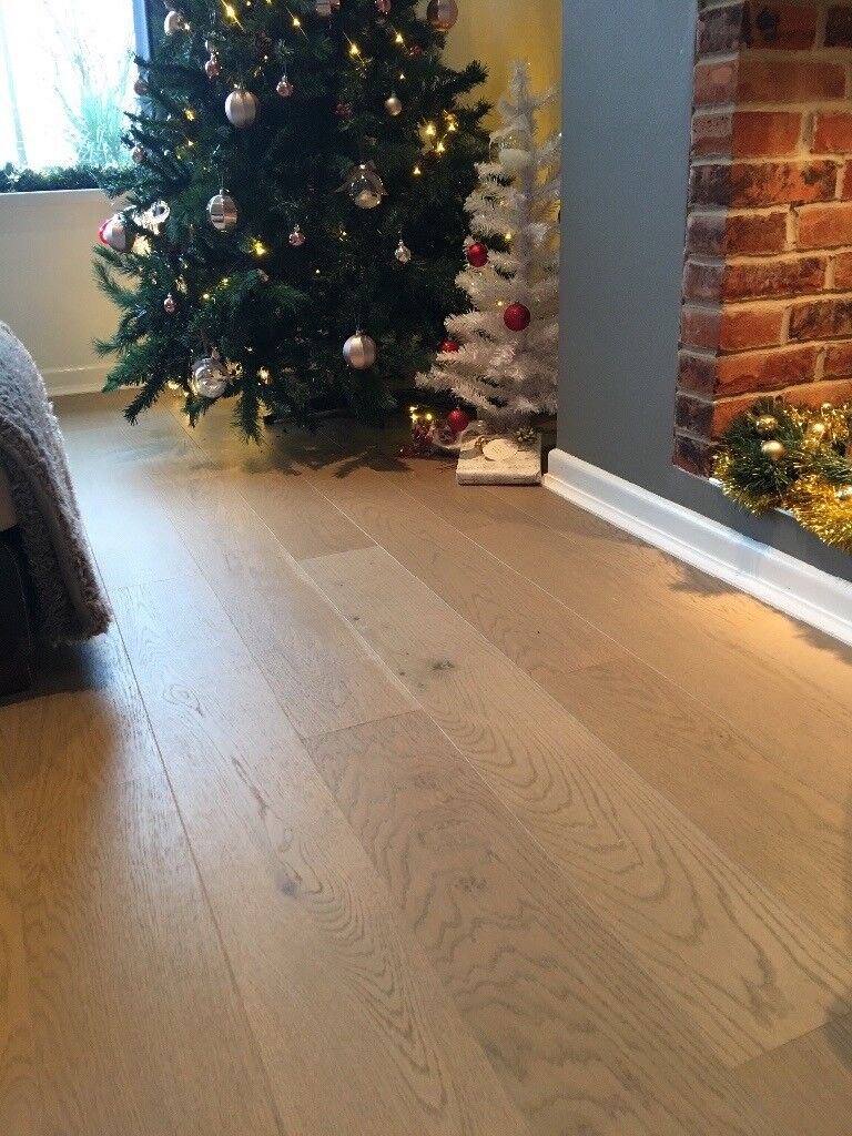 Colours Vivace Mineral Grey Oak Real Wood Top Layer