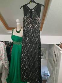 Floor length quiz dress size 8