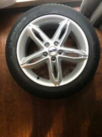Ford Focus Brand New Tyre and Alloy